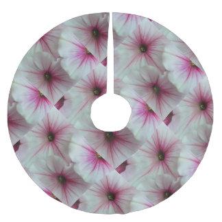 柔らかく、敏感なピンクのペチュニア ブラッシュドポリエステルツリースカート