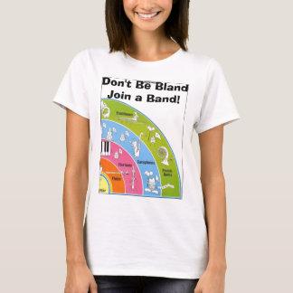 柔和が結合しますバンドをあないで下さい! Tシャツ