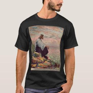 柔和で及び穏やかなイエス・キリスト Tシャツ