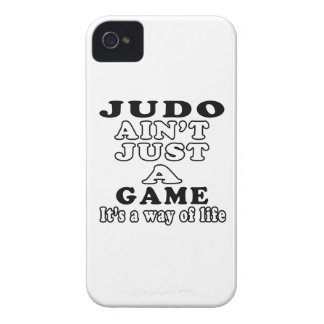 柔道はそれによってが生き方であるちょうどゲームではないです Case-Mate iPhone 4 ケース