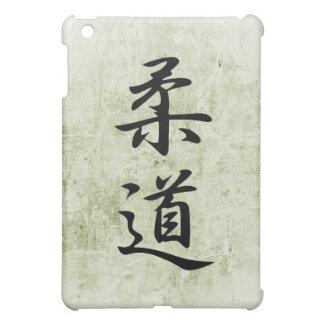柔道- Juudouのための日本のな漢字 iPad Miniケース