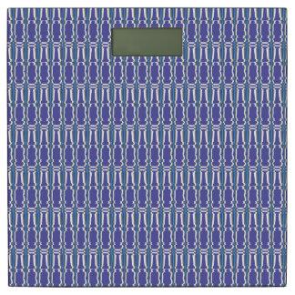 柱の紫色のタマキビの重量のスケール 体重計