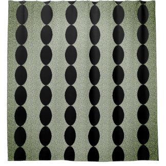 柱アンティーク夢ヒスイ黒い-- 家庭装飾 シャワーカーテン