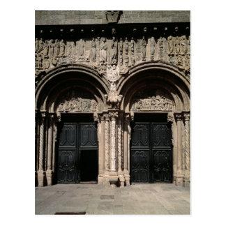 柱廊玄関de las Plateriasの眺め ポストカード