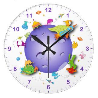 柱時計の子供へ部屋 ラージ壁時計