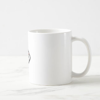 柱時計ビジネスロゴ コーヒーマグカップ