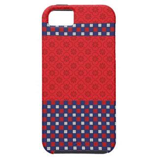 柳細工のタイルパターン袋のWrisletのiPhoneの場合 iPhone SE/5/5s ケース