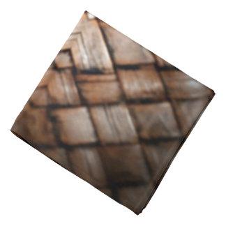柳細工の織り方パターン バンダナ