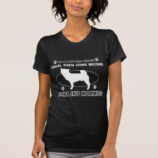 柴犬のお母さんのデザイン Tシャツ