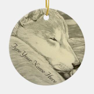 柴犬のオーナメント名前入りな犬の芸術の装飾 セラミックオーナメント