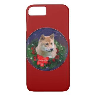 柴犬のクリスマス iPhone 8/7ケース