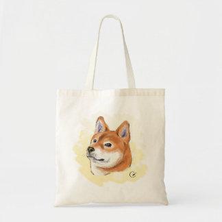 柴犬のスケッチ トートバッグ