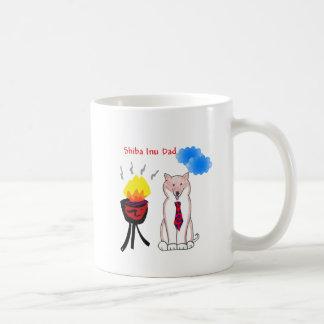 柴犬のパパのマグ コーヒーマグカップ