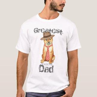 柴犬のパパ Tシャツ