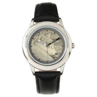 柴犬の番犬の恋人の柴犬の腕時計 腕時計