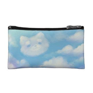 柴犬の雲の化粧のバッグ コスメティックバッグ