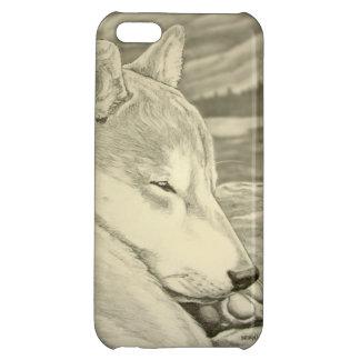 柴犬のIPhoneの場合の柴犬犬のIphone 5の場合 iPhone5C カバー