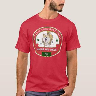柴犬ビールTシャツ Tシャツ