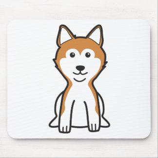 柴犬犬の漫画 マウスパッド