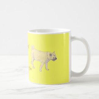 柴犬犬。 かわいい金。 プロダクトに名前を加えて下さい コーヒーマグカップ