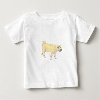 柴犬犬 ベビーTシャツ