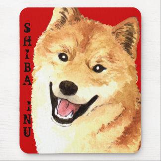 柴犬色のブロック マウスパッド