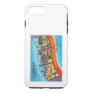 柵のニュージャージーNJのヴィンテージ旅行郵便はがき iPhone 8 PLUS/7 PLUSケース