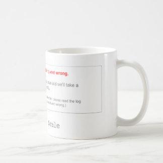 柵は量ることができません コーヒーマグカップ