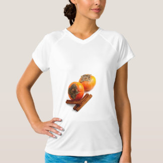 柿のシナモン Tシャツ