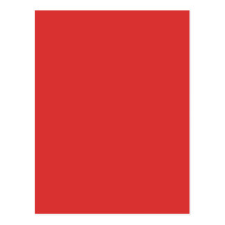柿の赤(無地のな赤オレンジ色)の~ ポストカード