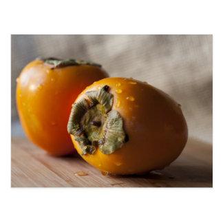 柿の静物画 ポストカード