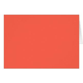 柿ライト(無地のな黄橙色色) ~ カード