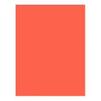 柿ライト(無地のな黄橙色色) ~ ポストカード