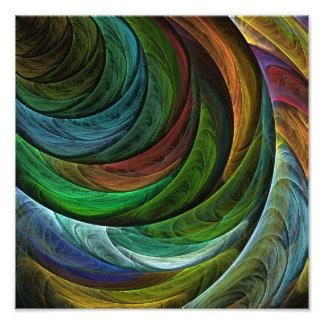 栄光の抽象美術の写真のプリントを着色して下さい フォトプリント
