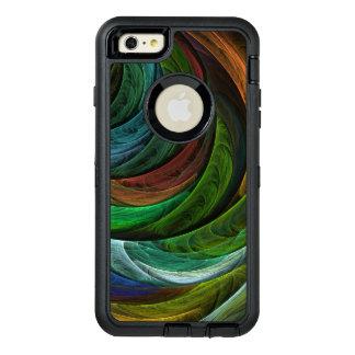 栄光の抽象美術を着色して下さい オッターボックスディフェンダーiPhoneケース