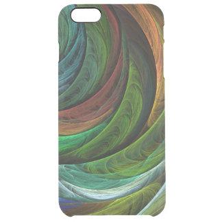 栄光の抽象美術を着色して下さい クリア iPhone 6 PLUSケース