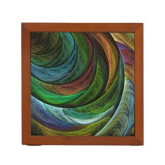 栄光の抽象美術を着色して下さい ペンスタンド