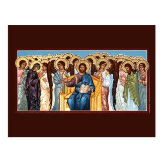 栄光の祈りの言葉カードのキリスト ポストカード