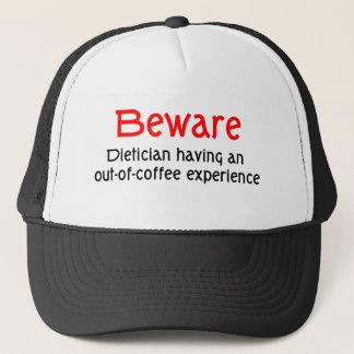栄養士の帽子を用心して下さい キャップ