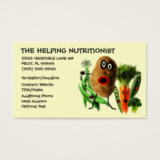 栄養士の漫画 名刺