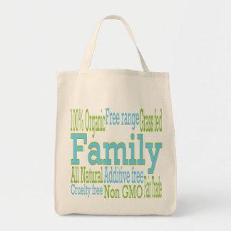 栄養物は家族を気にしました トートバッグ