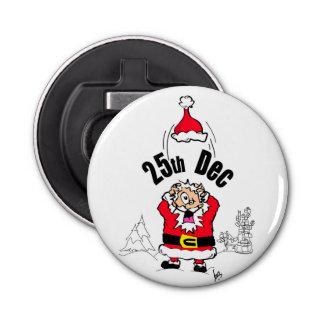栓抜きクリスマスによって重点を置かれるNoel 栓抜き