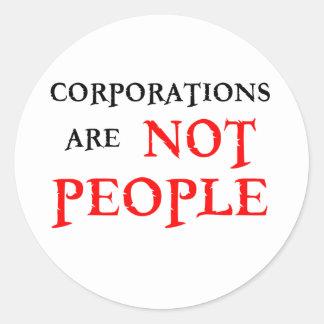株式会社は人々ではないです ラウンドシール