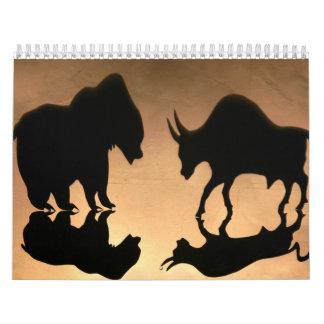 株式市場の刺激を受けたなカレンダー カレンダー