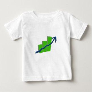株式市場の危険 ベビーTシャツ