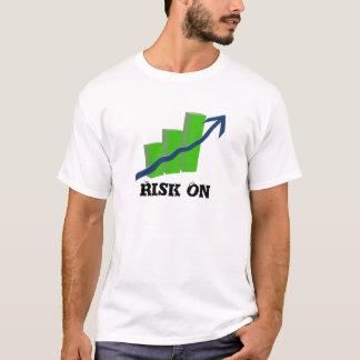 株式市場の危険 Tシャツ