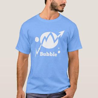 株式市場の泡 Tシャツ