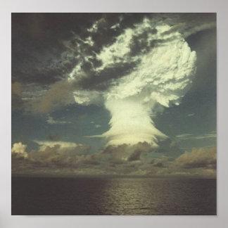 """核実験の写真""""マイク"""" ポスター"""