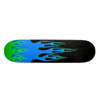 核焼跡のスケートボード 21.6CM スケートボードデッキ