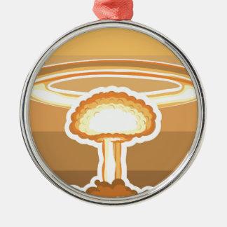 核爆発のベクトル メタルオーナメント